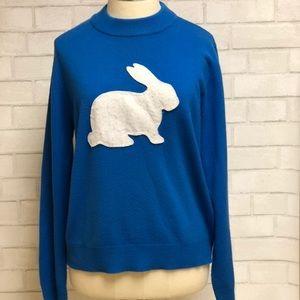 Blue Bunny Long Sleeve Sweater Medium